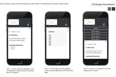 UX Design: Phone design.