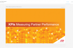 Measuring KPI Partner Performance